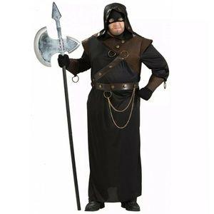 Men's Executioner Full Figure Adult Costume